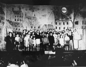 staged production in Theresienstadt