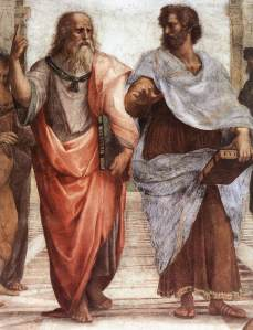 School of Athens, plato and aristotle
