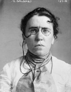 Emma Goldman, 1901 mugshot