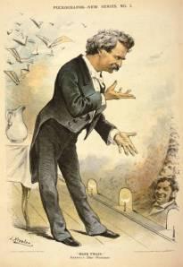 Mark Twain, 1877