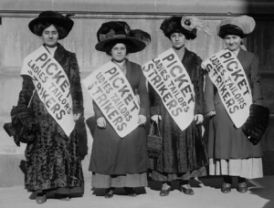 Picket Ladies, 1911-1912