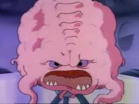 the always impressive and genius, Krang