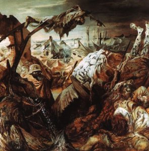 """The Trench,"" Otto Dix, 1923."