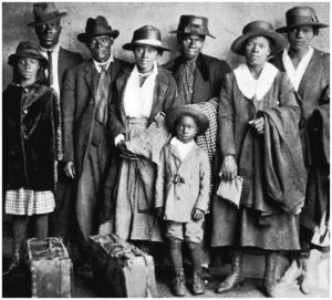 "Before the ""Great Migration"" in 1920, 90% of the nations black population lived in the South."