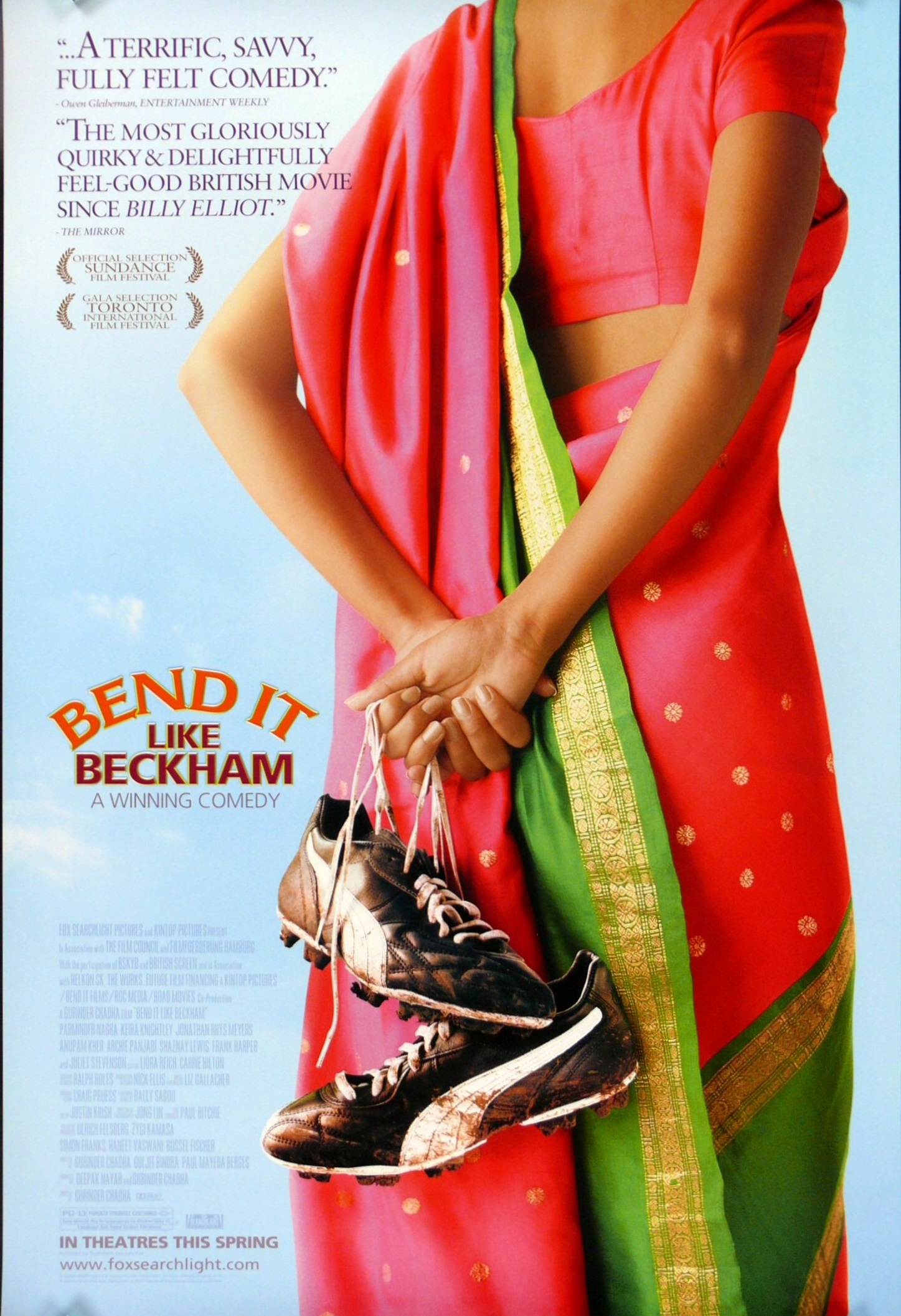 the issue of feminine masculinity in bend it like beckham a film by gurinder chadha Lounge for 21 jan 2012  british-indian director gurinder chadha's 2002 film, bend it like beckham it's not the only time the film is mentioned as an.
