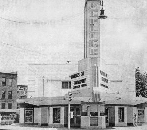 Leflore Theater, Greenwood, Mississippi, 1964.