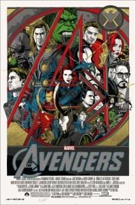 Avengers, Mondo Poster, 2012.