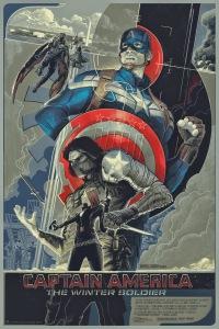 Capt America: Winter Soldier mondo poster, 2013.