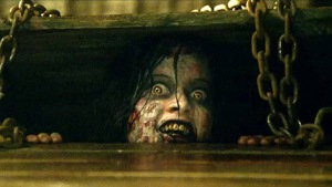 Jane Levy as Mia in The Evil Dead, 2013.