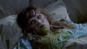 Linda Blair as Regan in The Exorcist, 1973