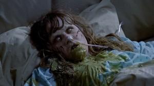 Linda Blair as Regan in The Exorcist, 1973