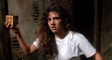 Ashley Laurence as Kirsty Cotton in Hellraiser, 1987.