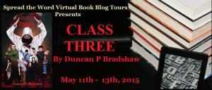 Class Three Tour blog tour banner