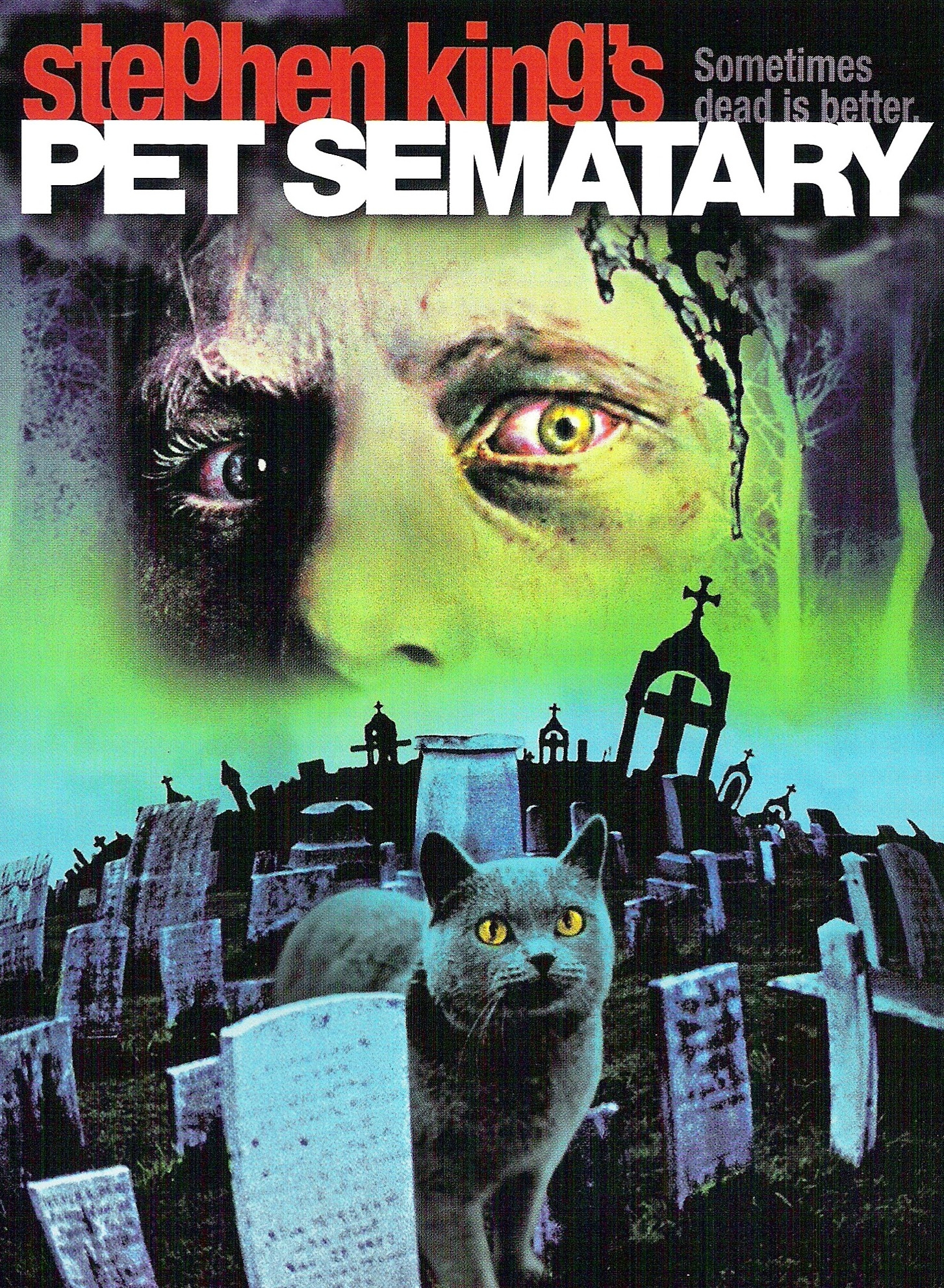 pet sematary essay Following the death of the creed family cat, jud crandall, louis' new neighbour takes louis upto the pet cemetary (throughout the book spelt sematary) to bury the cat.