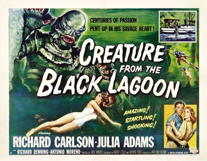 Poster - Creature From the Black Lagoon_02