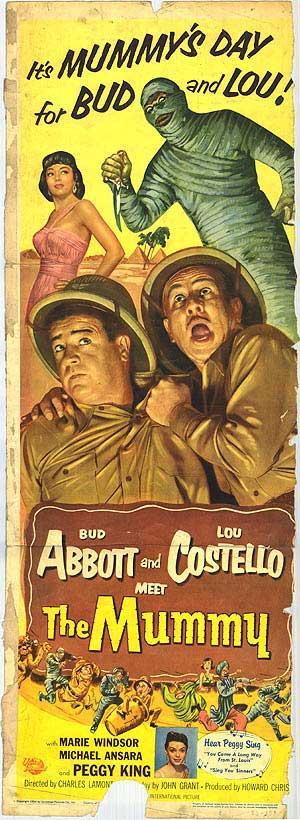 abbott and costello meet the mummy film