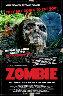 Image result for Lucio Fulci's ZOMBIE (1979)